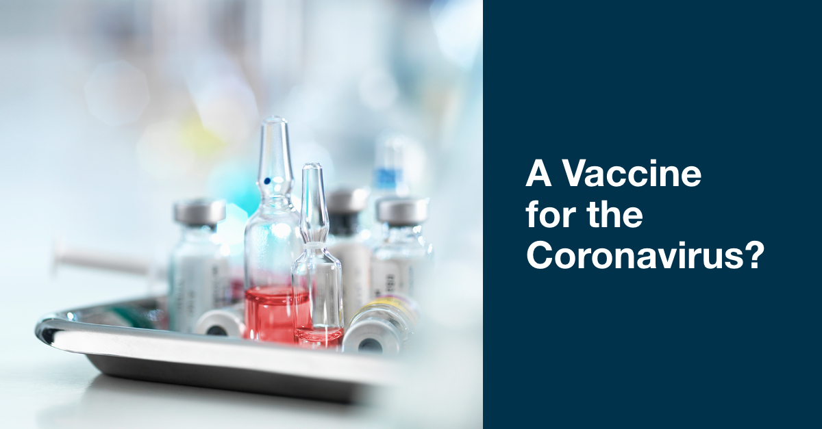 A Vaccine for the Coronavirus? | CVS Health Payor Solutions
