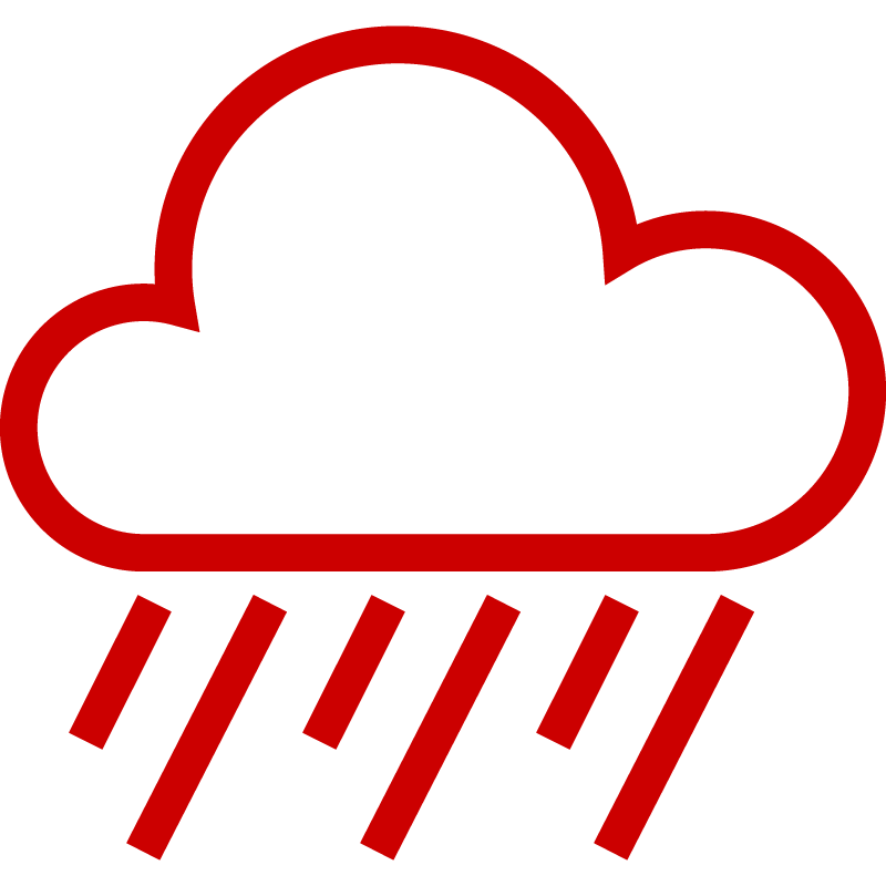 Icon of rainclouds