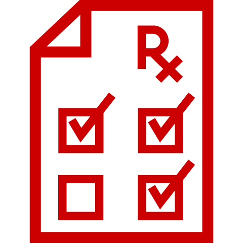 Icon of Rx prescription script
